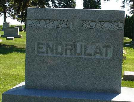 ENDRULAT, FAMILY MARKER - Ida County, Iowa | FAMILY MARKER ENDRULAT