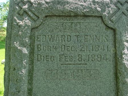 ENNIS, EDWARD T. - Ida County, Iowa | EDWARD T. ENNIS