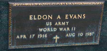 EVANS, ELDON A. - Ida County, Iowa | ELDON A. EVANS