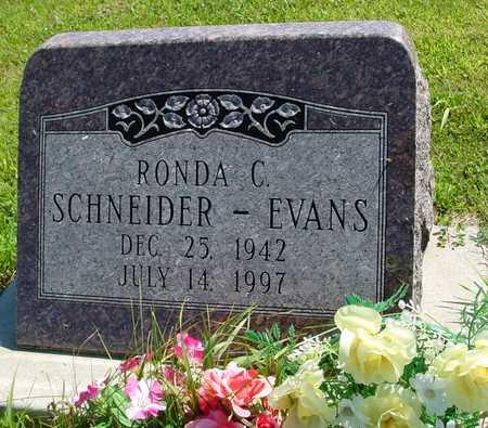 EVANS, RONDA C. - Ida County, Iowa | RONDA C. EVANS
