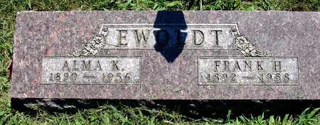 EWOLDT, FRANK & ALMA - Ida County, Iowa | FRANK & ALMA EWOLDT