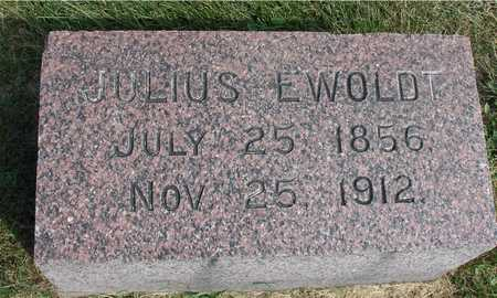 EWOLDT, JULIUS - Ida County, Iowa | JULIUS EWOLDT