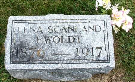 SCANLAND EWOLDT, LENA - Ida County, Iowa | LENA SCANLAND EWOLDT