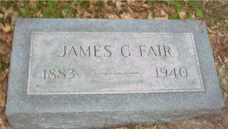 FAIR, JAMES G. - Ida County, Iowa | JAMES G. FAIR