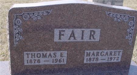 FAIR, MARGARET - Ida County, Iowa | MARGARET FAIR