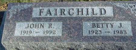 FAIRCHILD, JOHN & BETTY - Ida County, Iowa | JOHN & BETTY FAIRCHILD