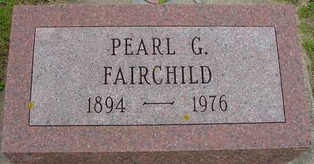 FAIRCHILD, PEARL G. - Ida County, Iowa | PEARL G. FAIRCHILD
