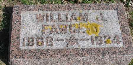 FAWCETT, WILLIAM J. - Ida County, Iowa   WILLIAM J. FAWCETT
