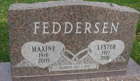 FEDDERSEN, LESTER - Ida County, Iowa | LESTER FEDDERSEN