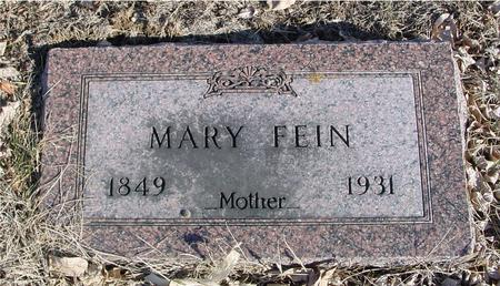 FEIN, MARY - Ida County, Iowa | MARY FEIN