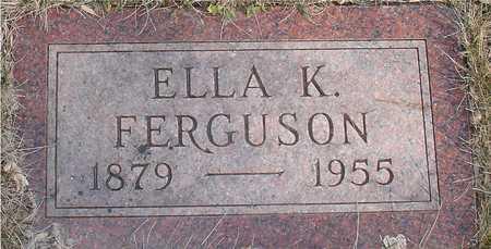 FERGUSON, ELLA K. - Ida County, Iowa | ELLA K. FERGUSON