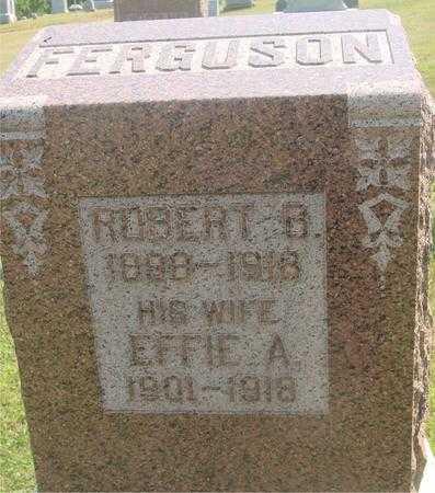 FERGUSON, EFFIE A. - Ida County, Iowa | EFFIE A. FERGUSON