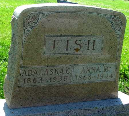 FISH, ADALASKA  & ANNA - Ida County, Iowa | ADALASKA  & ANNA FISH