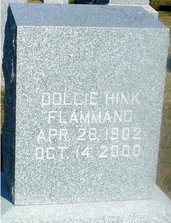 HINK FLAMMAND, DOLLIE - Ida County, Iowa | DOLLIE HINK FLAMMAND