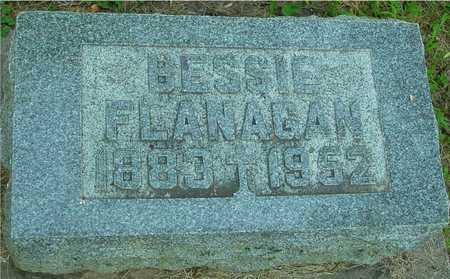 FLANAGAN, BESSIE - Ida County, Iowa | BESSIE FLANAGAN