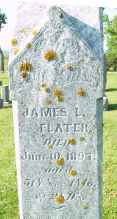 FLATER, JAMES L. - Ida County, Iowa   JAMES L. FLATER