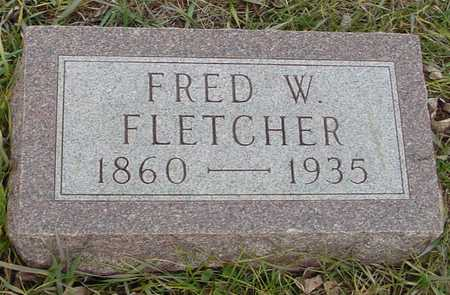 FLETCHER, FRED W. - Ida County, Iowa | FRED W. FLETCHER