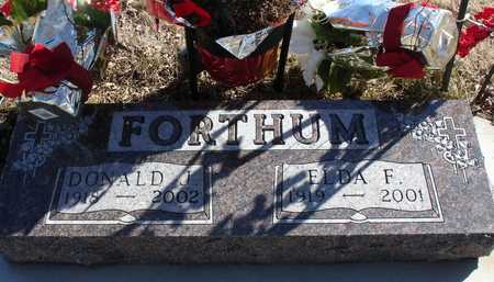 FORTHUM, DONALD & ELDA - Ida County, Iowa | DONALD & ELDA FORTHUM