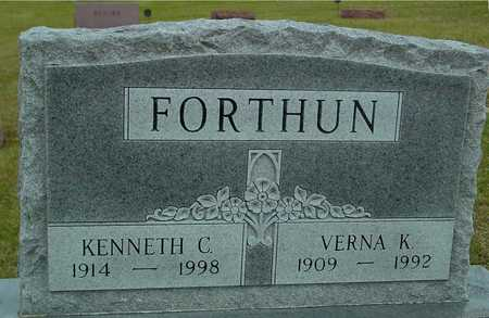 FORTHUN, KENNETH & VERNA K. - Ida County, Iowa | KENNETH & VERNA K. FORTHUN