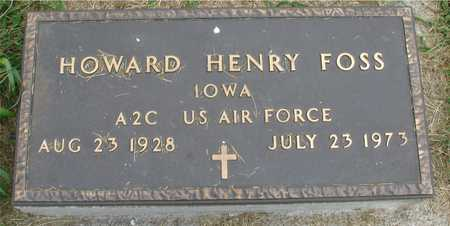 FOSS, HOWARD HENRY - Ida County, Iowa | HOWARD HENRY FOSS