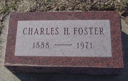 FOSTER, CHARLES H. - Ida County, Iowa | CHARLES H. FOSTER