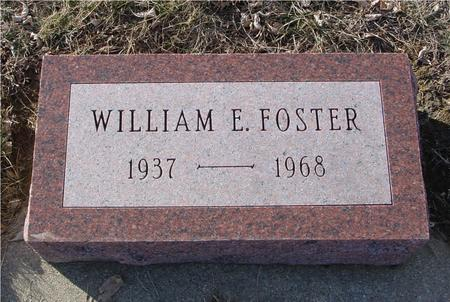 FOSTER, WILLIAM E. - Ida County, Iowa | WILLIAM E. FOSTER