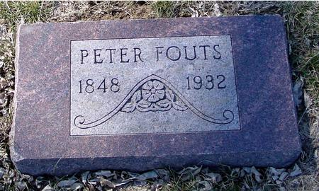 FOUTS, PETER - Ida County, Iowa | PETER FOUTS