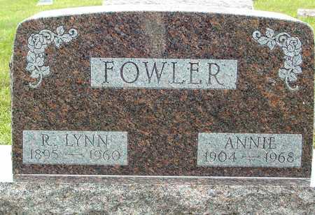 FOWLER, LYNN & ANNIE - Ida County, Iowa | LYNN & ANNIE FOWLER