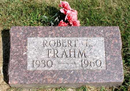 FRAHM, ROBERT L. - Ida County, Iowa | ROBERT L. FRAHM