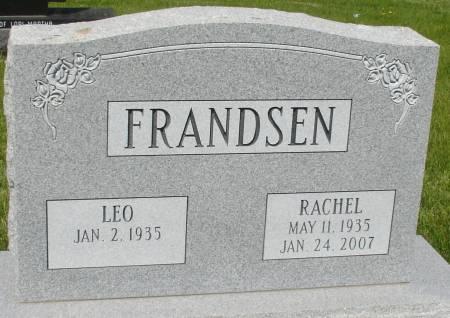 FRANDSEN, RACHEL - Ida County, Iowa   RACHEL FRANDSEN