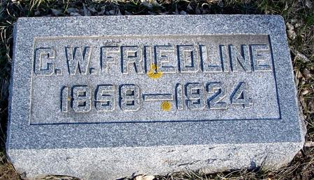 FRIEDLINE, C. W. - Ida County, Iowa | C. W. FRIEDLINE