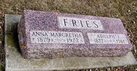 FRIES, ADOLPH & ANNA M. - Ida County, Iowa | ADOLPH & ANNA M. FRIES