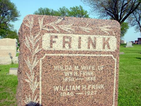FRINK, WILLIAM - Ida County, Iowa | WILLIAM FRINK