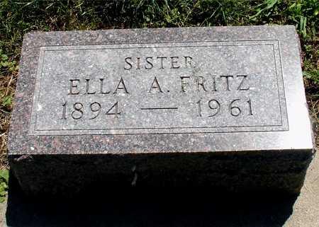 FRITZ, ELLA A. - Ida County, Iowa | ELLA A. FRITZ