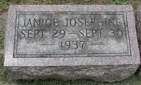 FRITZ, JANICE JOSEPHINE - Ida County, Iowa | JANICE JOSEPHINE FRITZ
