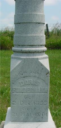 FUNDERMANN, DORIS - Ida County, Iowa | DORIS FUNDERMANN
