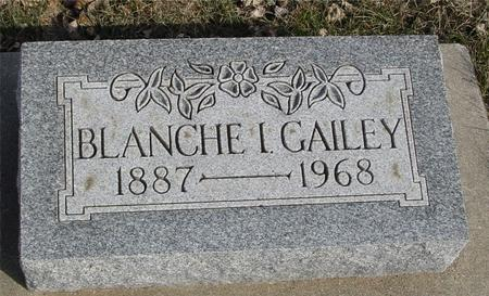 GAILEY, BLANCHE I. - Ida County, Iowa | BLANCHE I. GAILEY