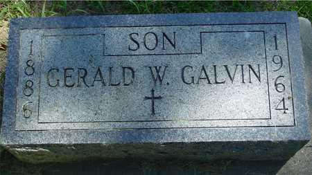 GALVIN, GERALD W. - Ida County, Iowa | GERALD W. GALVIN