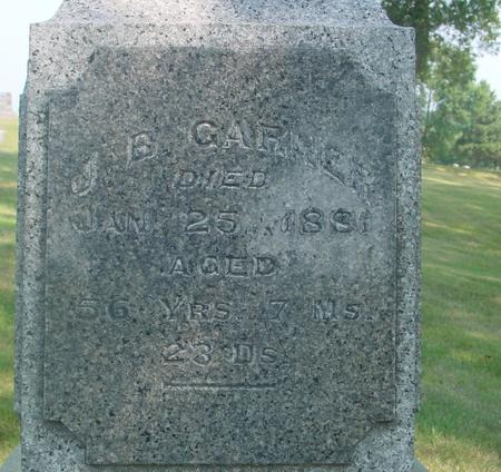 GARNER, J. B. - Ida County, Iowa | J. B. GARNER