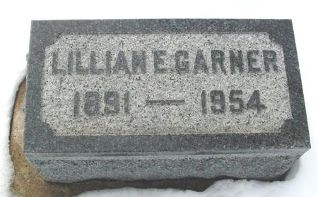 GARNER, LILLIAN E. - Ida County, Iowa | LILLIAN E. GARNER
