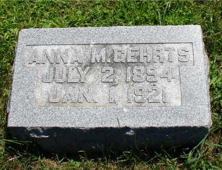 GEHRTS, ANNA M. - Ida County, Iowa | ANNA M. GEHRTS