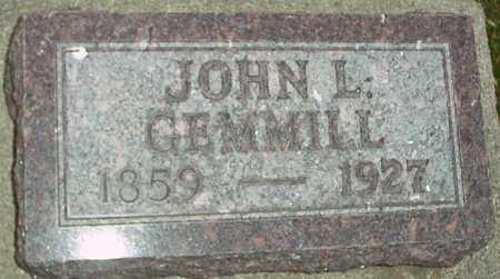 GEMMILL, JOHN L. - Ida County, Iowa | JOHN L. GEMMILL