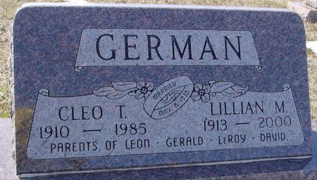 GERMAN, CLEO & LILLIAN - Ida County, Iowa | CLEO & LILLIAN GERMAN
