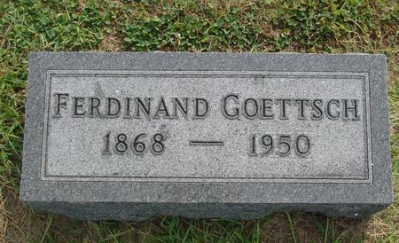 GOETTSCH, FERDINAND - Ida County, Iowa | FERDINAND GOETTSCH