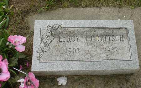 GOETTSCH, LEROY H. - Ida County, Iowa | LEROY H. GOETTSCH