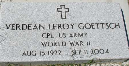 GOETTSCH, VERDEAN LEROY - Ida County, Iowa | VERDEAN LEROY GOETTSCH