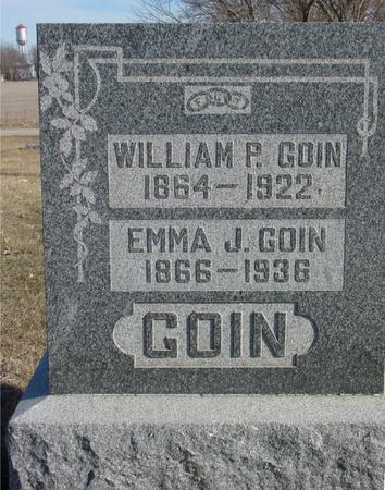GOIN, WILLIAM & EMMA - Ida County, Iowa | WILLIAM & EMMA GOIN