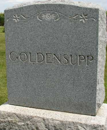 GOLDENSUPP, FAMILY MARKER - Ida County, Iowa | FAMILY MARKER GOLDENSUPP