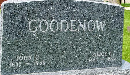 GOODENOW, JOHN & ALICE - Ida County, Iowa | JOHN & ALICE GOODENOW