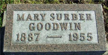 SURBER GOODWIN, MARY - Ida County, Iowa | MARY SURBER GOODWIN